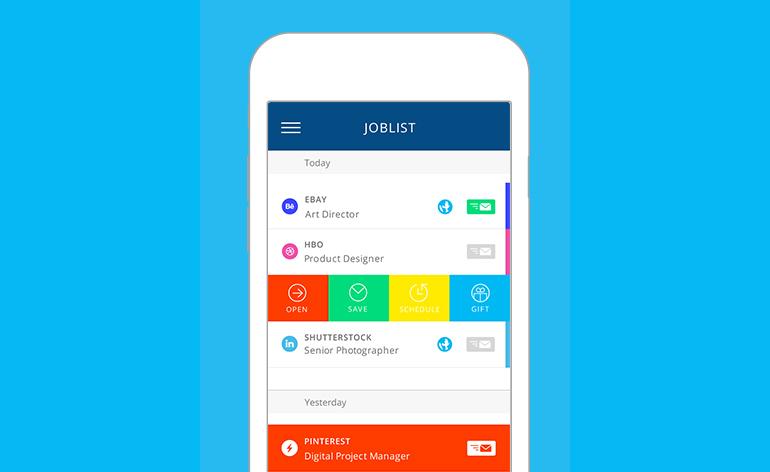 Blitz – Jobfinder for Сreatives